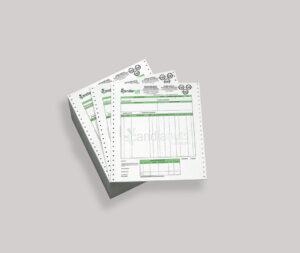 Μηχανογραφικό παλαιού τύπου, 11 Χ 24εκ μέχρι 2χρωματα