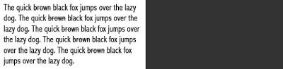 Rich Black - το πρόβλημα του μαύρου στο πιεστήριο